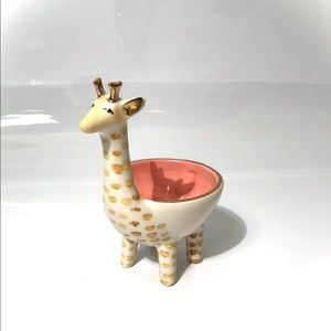 Anthropologie giraffe dish NWT